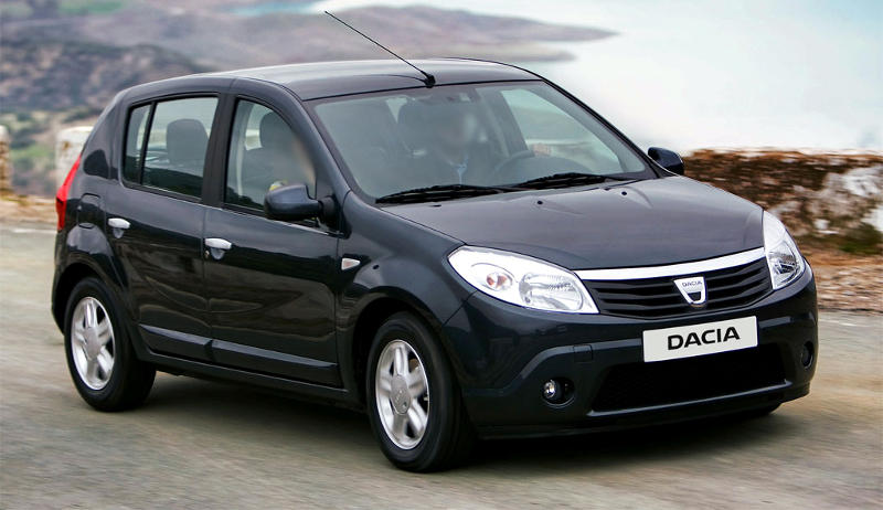 Dacia Sandero prime conversion